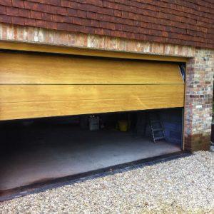 wooden Automated Garage Doors