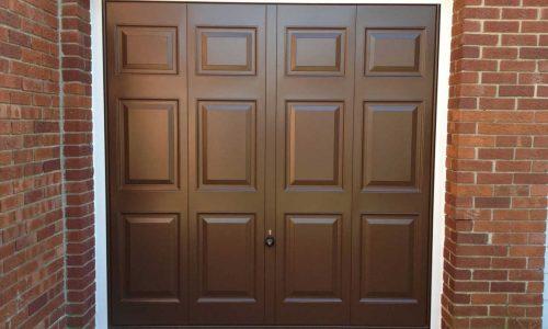 Brown GRP Garage Door