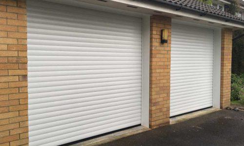 Double Roller Garage Doors