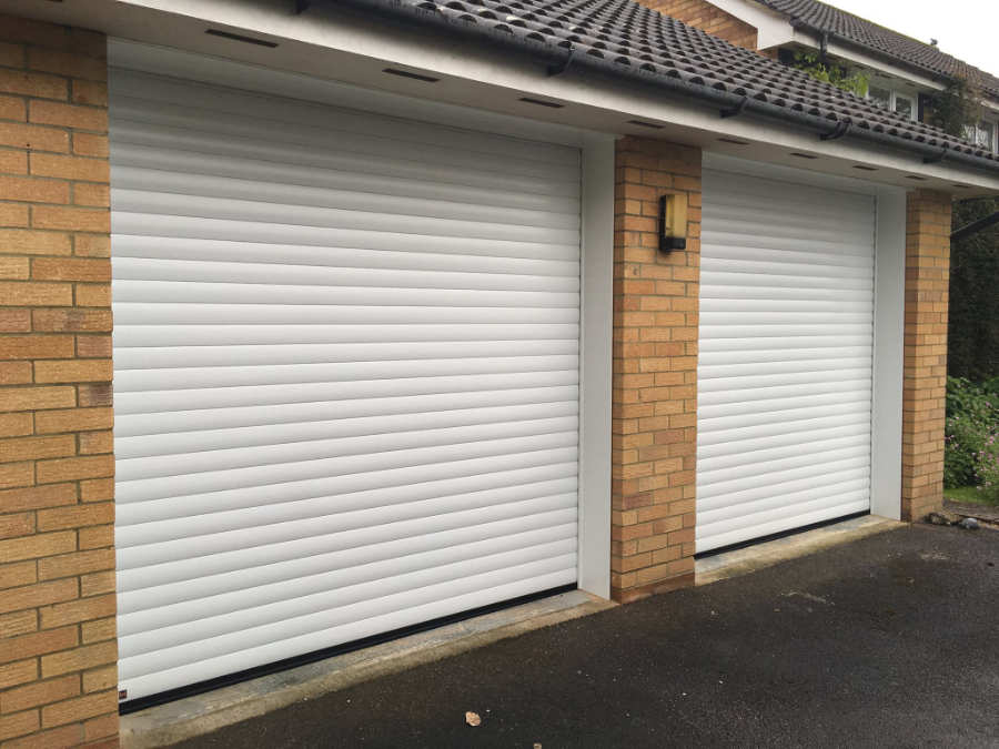 Double Roller Garage Doors