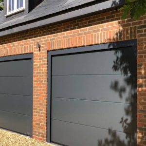 Double Sectional Garage Door Photo