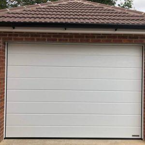 Sectional Garage Door Photo